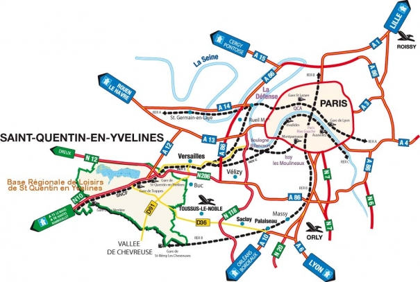 Saint-Quentin-en-Yvelines Tourisme