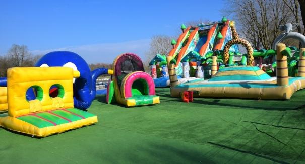 Structure gonflable le de loisirs 78 for Parc des yvelines